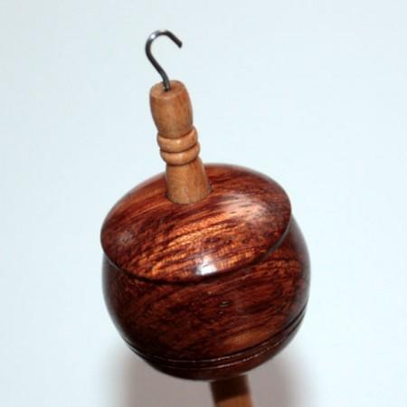 Brazilian Tulipwood Drop Spindle - 36g